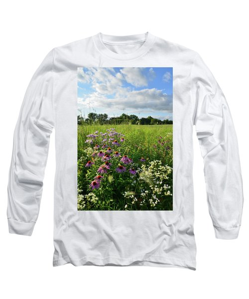 Afternoon In Moraine Hills State Park Long Sleeve T-Shirt