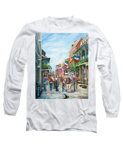 Afternoon On St. Ann Long Sleeve T-Shirt