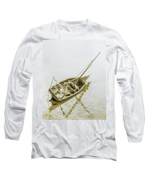 Aground Long Sleeve T-Shirt by Patrick Kain