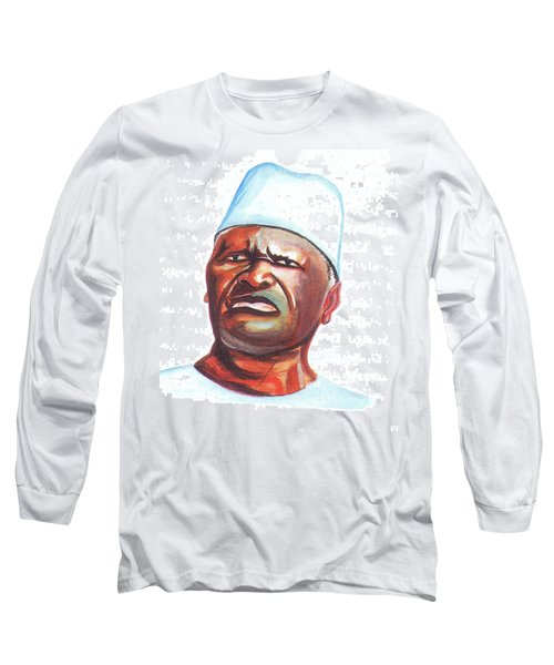 Ahmed Sekou Toure Long Sleeve T-Shirt by Emmanuel Baliyanga
