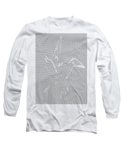 Long Sleeve T-Shirt featuring the digital art Aibird by Robert Thalmeier