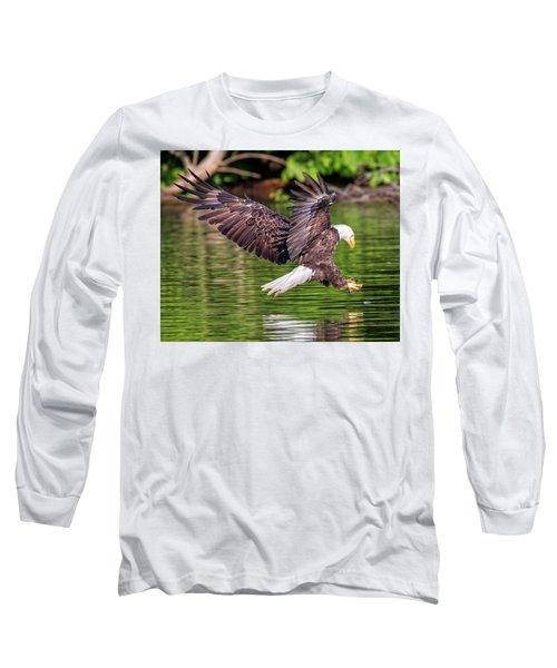 Long Sleeve T-Shirt featuring the photograph Air Brake by Alan Raasch