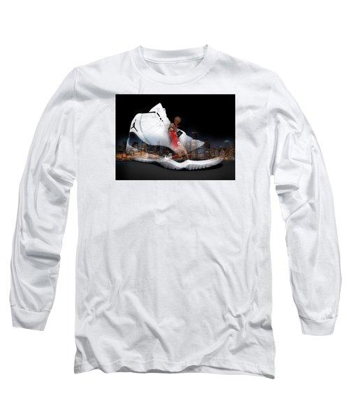 Air Jordan Chicago Long Sleeve T-Shirt