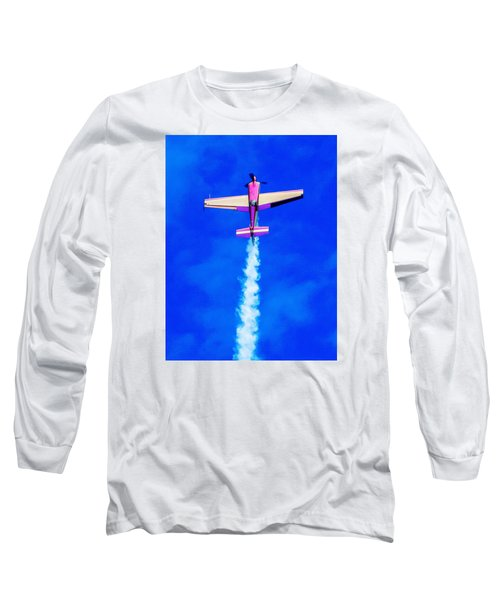 Air Show Long Sleeve T-Shirt by Michael Nowotny