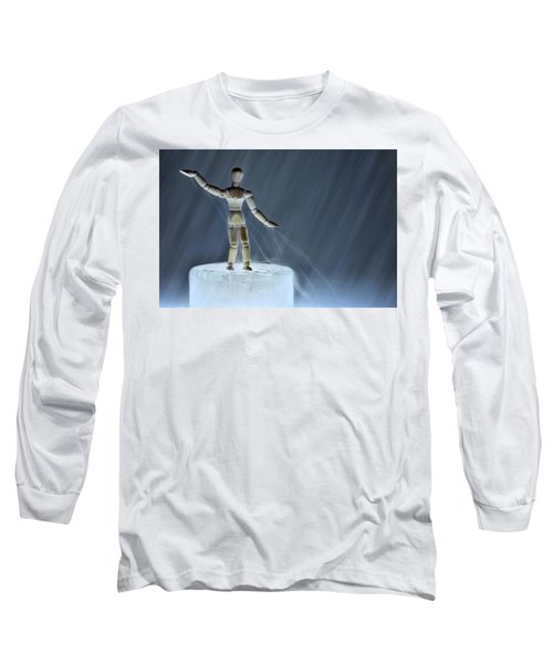 Airbender Long Sleeve T-Shirt by Mark Fuller
