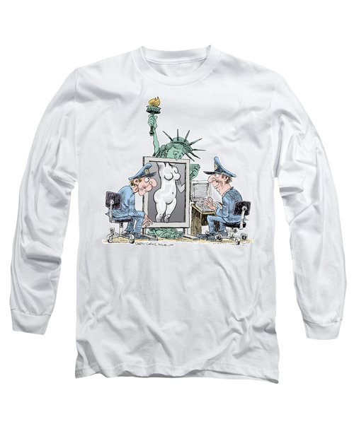 Airport Security And Liberty Long Sleeve T-Shirt
