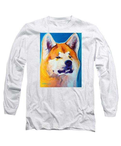 Akita - Apricot Long Sleeve T-Shirt