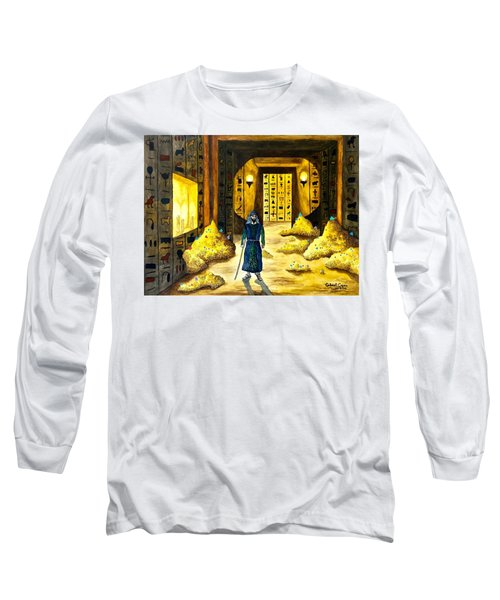 Al Mahmoun In Egypt  Long Sleeve T-Shirt
