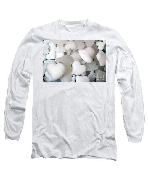 Alabaster Hearts Long Sleeve T-Shirt