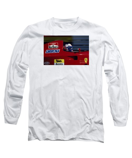 Alain Prost. 1990 French Grand Prix Long Sleeve T-Shirt