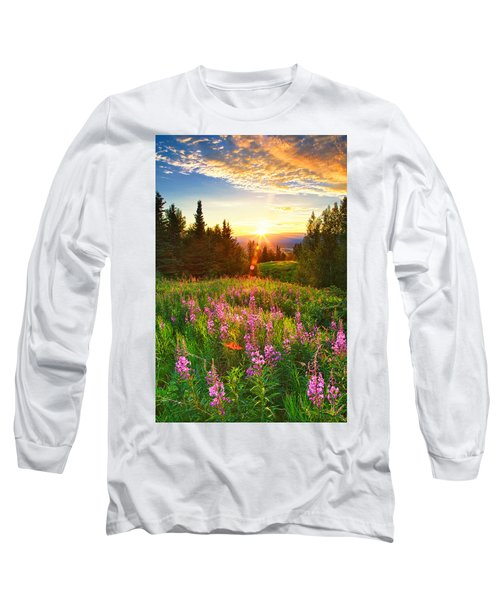 Alaska Field Long Sleeve T-Shirt