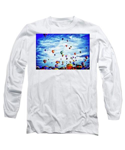 Albuquerque Blues Long Sleeve T-Shirt