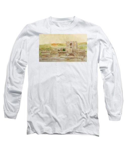Alcazaba Of Almeria Long Sleeve T-Shirt by Angeles M Pomata