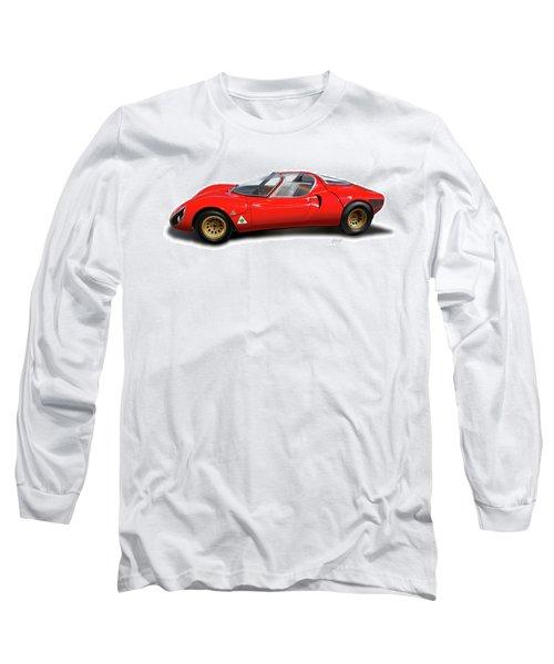 Alfa Romeo 33 Stradale 1967 Long Sleeve T-Shirt