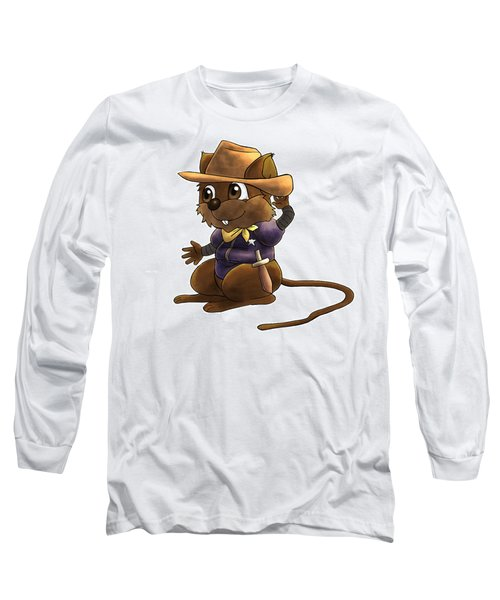 Deputy Alfred Long Sleeve T-Shirt by Reynold Jay