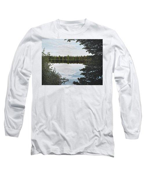 Algonquin Park Long Sleeve T-Shirt by Kenneth M  Kirsch