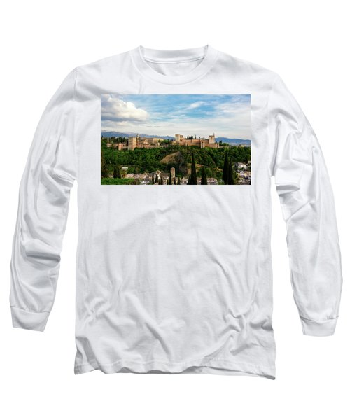 Alhambra In The Evening Long Sleeve T-Shirt