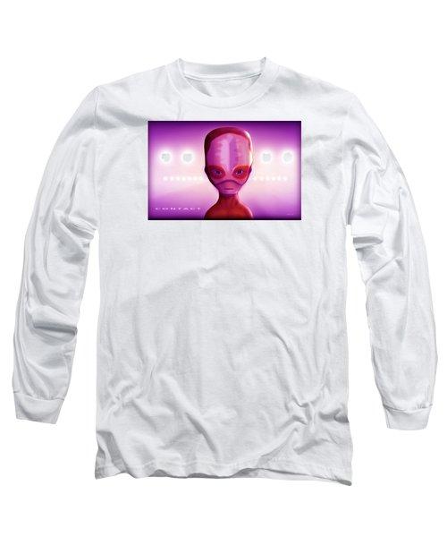 Alien Contact Long Sleeve T-Shirt