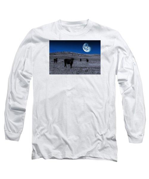 Alien Cows Long Sleeve T-Shirt