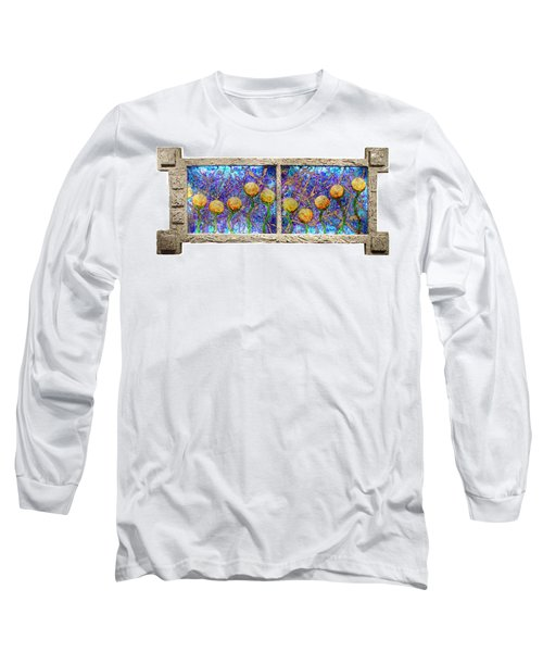 Alien Flowers Long Sleeve T-Shirt