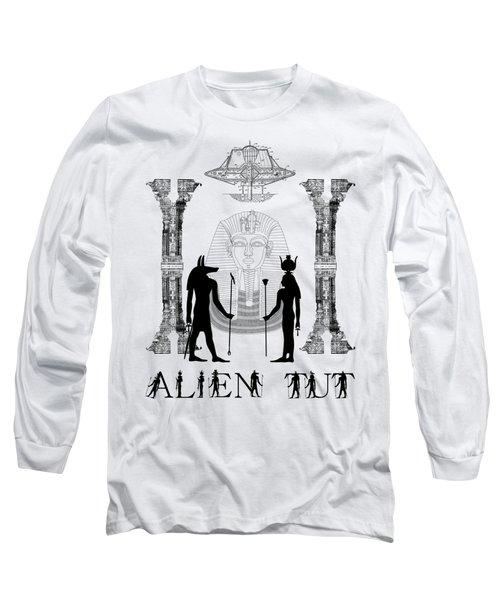 Long Sleeve T-Shirt featuring the photograph Alien King Tut by Robert G Kernodle