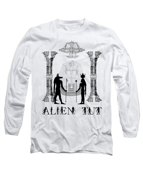 Alien King Tut Long Sleeve T-Shirt