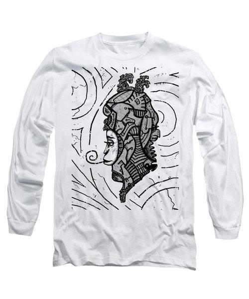 Alien Woman Long Sleeve T-Shirt
