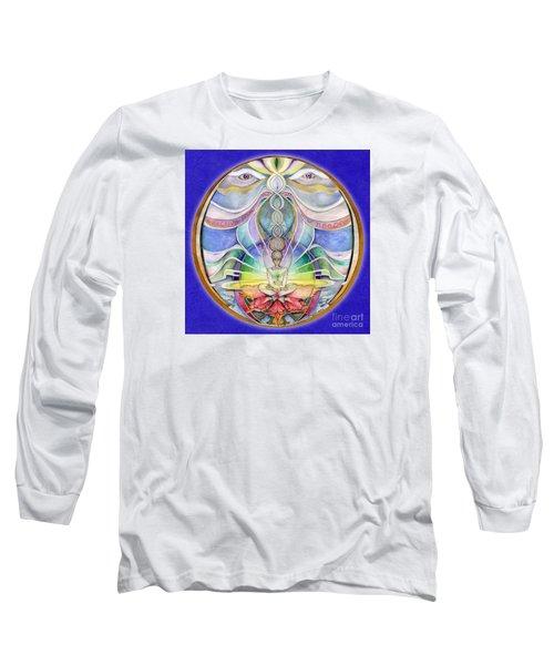 Alignment Mandala Long Sleeve T-Shirt