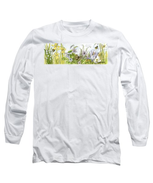 Alive In A Spring Garden Long Sleeve T-Shirt