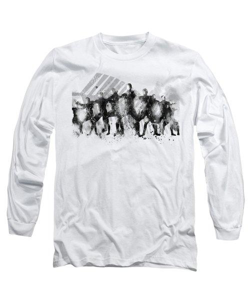 All Blacks Haka Long Sleeve T-Shirt by Marlene Watson