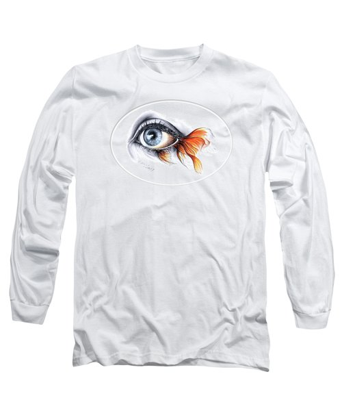 All I See Is A Sea Long Sleeve T-Shirt by E Drawings