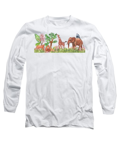 All Is Well In The Jungle Long Sleeve T-Shirt