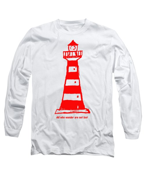 All Who Wander Long Sleeve T-Shirt