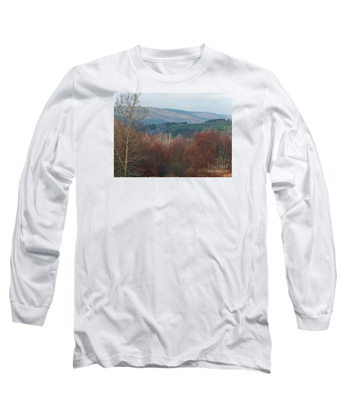 Long Sleeve T-Shirt featuring the photograph Allegany Rhapsody by Christian Mattison