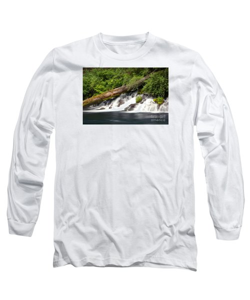 Allen Springs On The Metolius River Long Sleeve T-Shirt