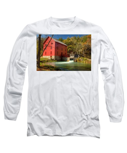 Long Sleeve T-Shirt featuring the photograph Alley Mill by Harold Rau