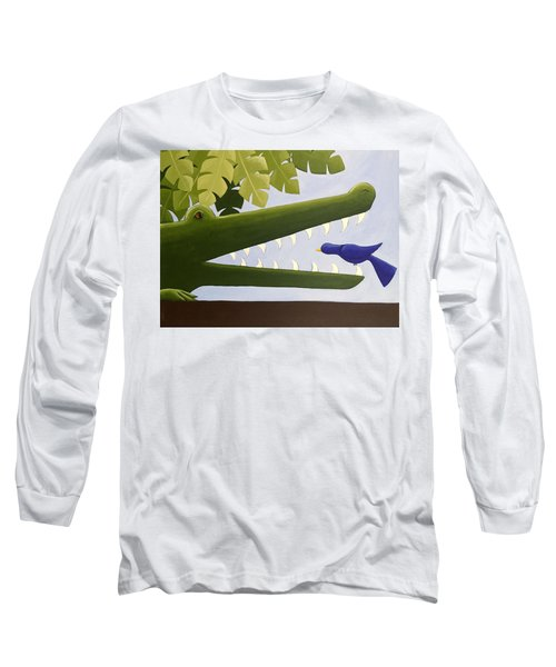 Alligator Nursery Art Long Sleeve T-Shirt