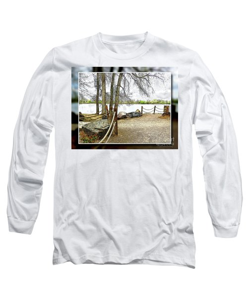 Almost Spring At Lafayette Lake Long Sleeve T-Shirt