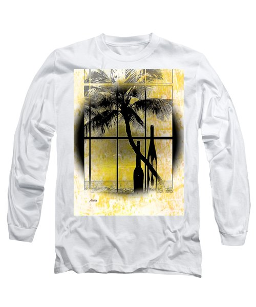 Aloha,from The Island Long Sleeve T-Shirt by Athala Carole Bruckner