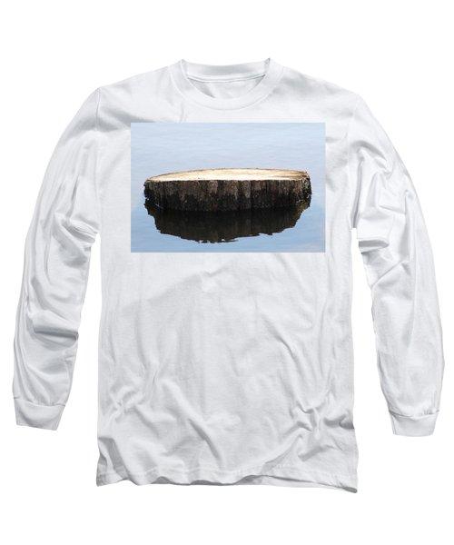 Alone But Strong Long Sleeve T-Shirt by Paul SEQUENCE Ferguson             sequence dot net