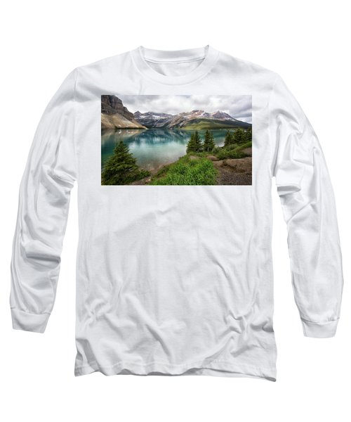 Along Icefields Parkway Long Sleeve T-Shirt