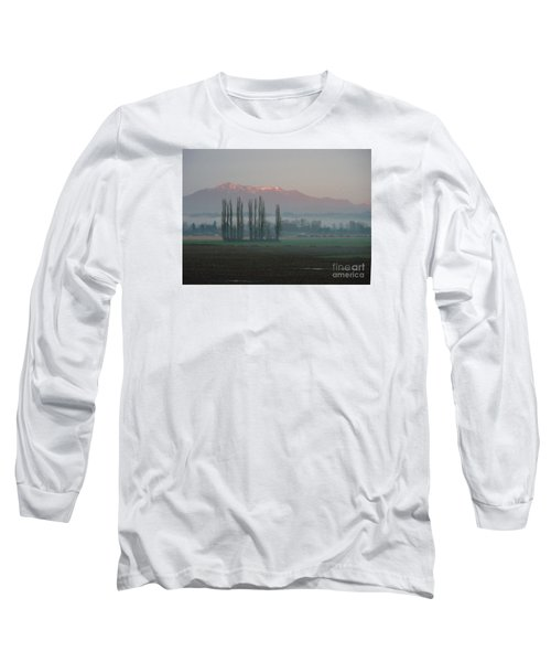 Long Sleeve T-Shirt featuring the photograph Alpenglow  by Jeanette French
