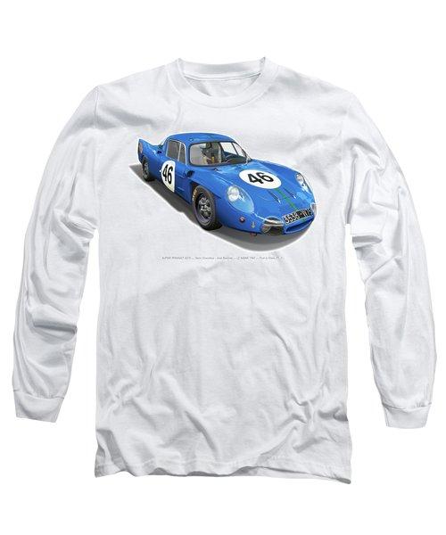 Alpine Renault A210 Long Sleeve T-Shirt