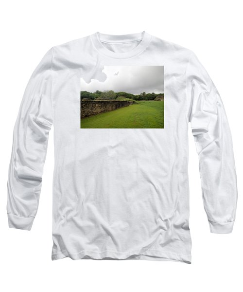 Long Sleeve T-Shirt featuring the photograph Altun Ha #1 by Lois Lepisto