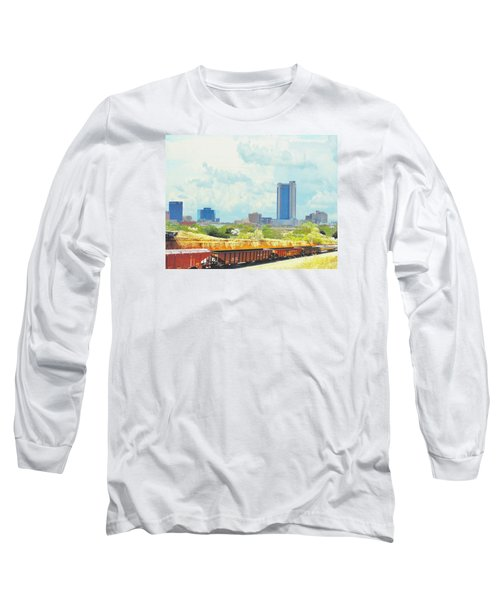 Amarillo Texas In The Spring Long Sleeve T-Shirt by Janette Boyd