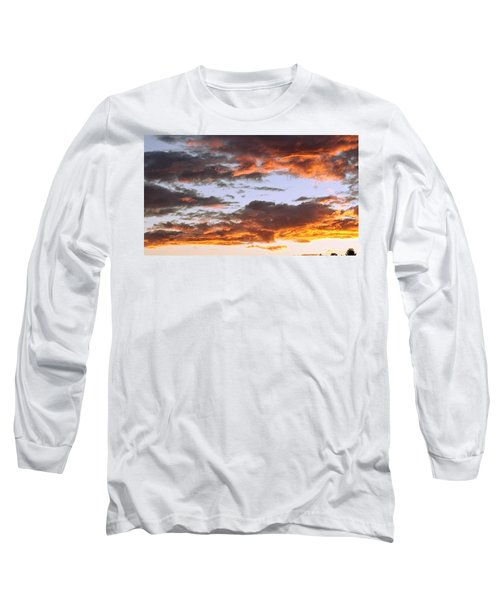 Glorious Clouds At Sunset Long Sleeve T-Shirt