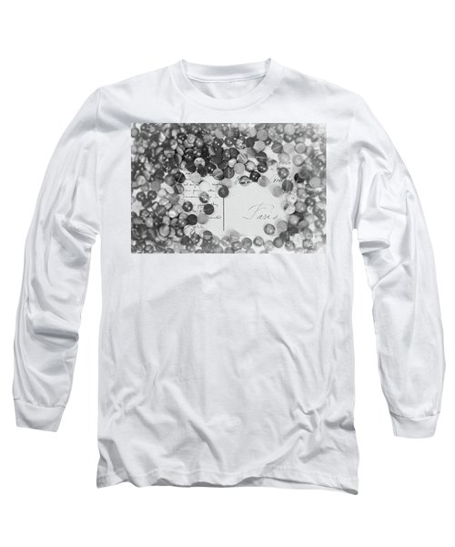 Amber #0502 Bw Long Sleeve T-Shirt
