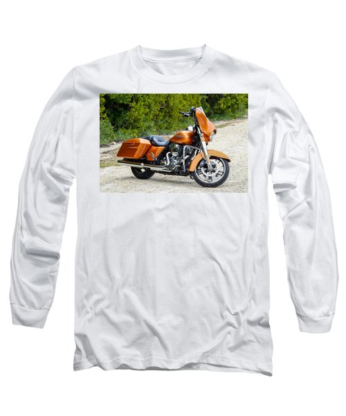 Amber Whiskey Street Glide Long Sleeve T-Shirt