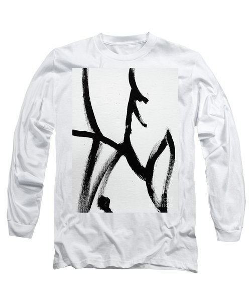 Long Sleeve T-Shirt featuring the painting Ambit by Robin Maria Pedrero