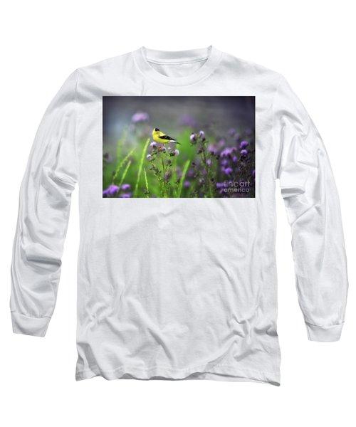 Amercian Goldfinch Long Sleeve T-Shirt